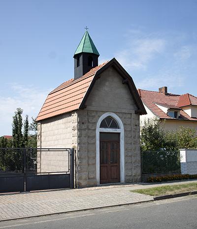 Fotografie zvoničky v obci Bělušice